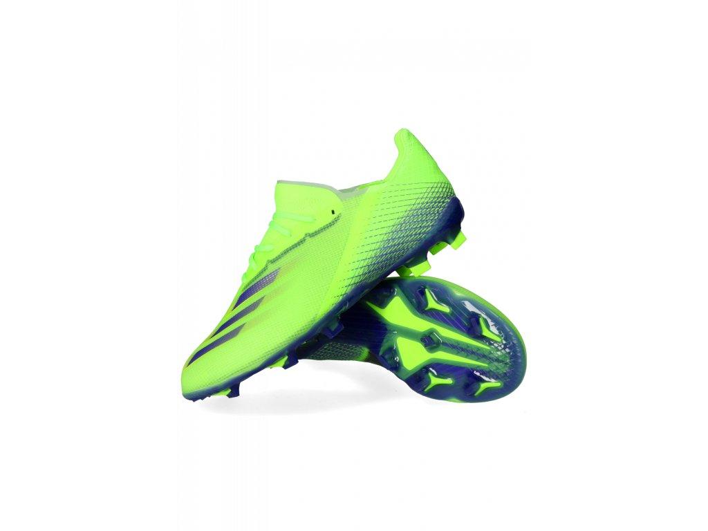 Dětské kopačky adidas X Ghosted.1 FG (Velikost 38 EU)