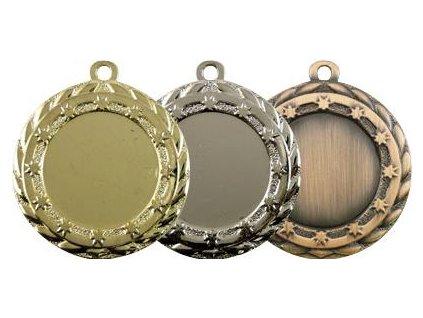 Sada medailí MD0063 (BARVA Zlato-Stříbro-Bronz)