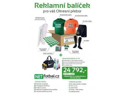 """Reklamní balíček """"OKRESNÍ PŘEBOR"""" (SmartSport Velikost oblečení Univerzální velikost)"""