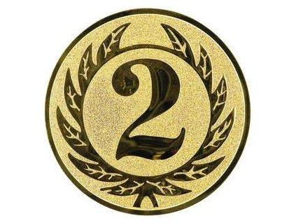 Kovový emblém LTK0102 (BARVA Zlatá)
