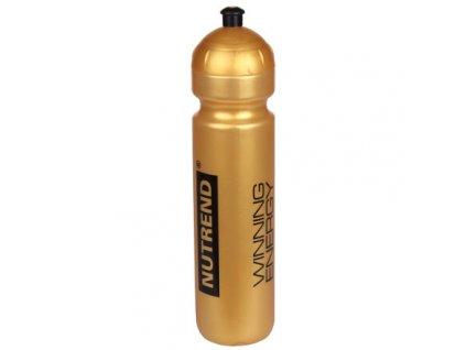 Bidon Nutrend sportovní láhev (Objem 500 ml, BARVA Zlatá)