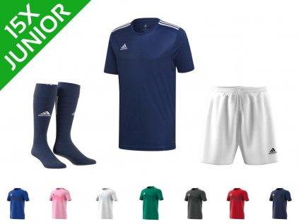 Dětská sada dresů adidas Campeon 19 (15 ks) (Textil ADIDAS Junior 164 cm)