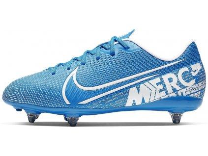 Dětské kopačky Nike Mercurial Vapor 13 Academy SG (Velikost 32 EU, BARVA Modrá, Požadované vlastnosti dětské)