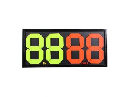 84426 double mechanicka tabule pro stridani oboustranna