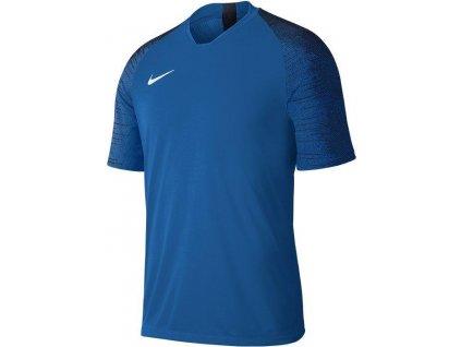 Dětský dres Nike Strike (Velikost L, BARVA Modrá, Délka rukávu bez rukávu)