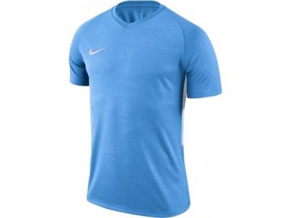 Dětský dres Nike Tiempo Premier (Velikost L, BARVA Modrá, Délka rukávu bez rukávu)
