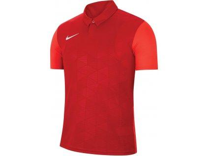 Dětský dres Nike Trophy IV (Velikost L, BARVA Červená, Délka rukávu bez rukávu)