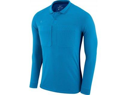 Dres pro rozhodčí Nike Referee dl.r. (Velikost L, BARVA Modrá, Délka rukávu dlouhý rukáv)