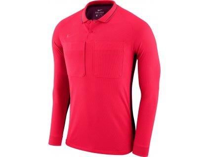 Dres pro rozhodčí Nike Referee dl.r. (Velikost L, BARVA Červená, Délka rukávu dlouhý rukáv)