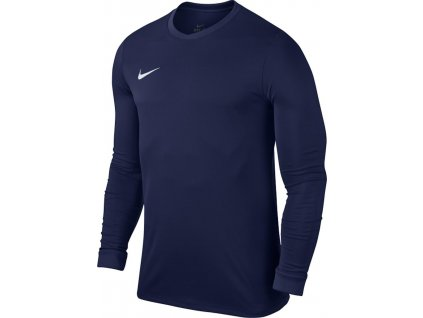 Dětský dres Nike Park VII dl.r. (Velikost L, BARVA Modrá, Délka rukávu dlouhý rukáv)