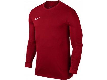 Dětský dres Nike Park VII dl.r. (Velikost L, BARVA Červená, Délka rukávu dlouhý rukáv)