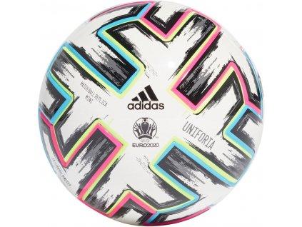 Mini míč adidas Uniforia EURO 2020 (Velikost 1, BARVA Bílá)