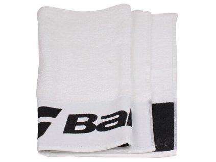Towel ručník 90 x 50 cm (BARVA Bílá-Modrá)
