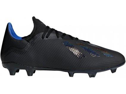 Kopačky adidas X 18.3 FG (Velikost 40 EU, BARVA Černá)