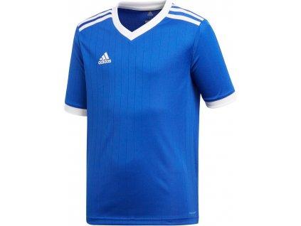 Dětský dres adidas Tabela 18 (Velikost 116, BARVA Modrá, Délka rukávu bez rukávu)