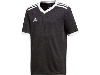 Dětský dres adidas Tabela 18 (Velikost 116, BARVA Černá, Délka rukávu bez rukávu)