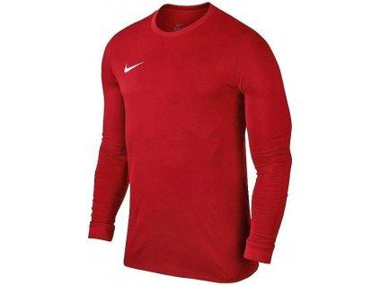 Dres Nike Park VII dl.r. (Velikost L, BARVA Červená, Délka rukávu dlouhý rukáv)