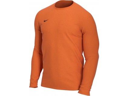 Dres Nike Park VII dl.r. (Velikost L, BARVA Oranžová, Délka rukávu dlouhý rukáv)