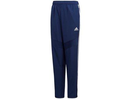 Dětské tepláky adidas Tiro 19 Woven (Velikost 116, BARVA Modrá, Délka nohavice dlouhé)