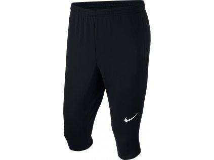 Dětské tréninkové 3/4 tepláky Nike Academy 18 (Velikost L, BARVA Černá, Délka nohavice dlouhé)