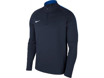 Dětská mikina Nike Dry Academy 18 Drill (Velikost L, BARVA Modrá, Délka rukávu dlouhý rukáv)
