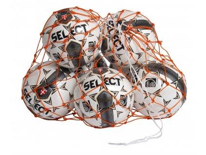 Select Síť na míče Ball net 10-12 balls oranžová Jedna velikost (BARVA Oranžová)