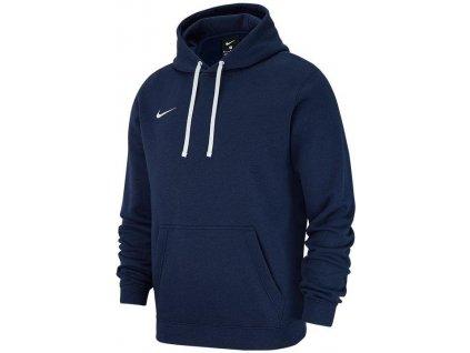Mikina Nike Team Club 19 Hoodie (Velikost 3XL, BARVA Modrá)