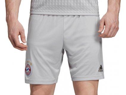 Trenky adidas FC Bayern Munchen 2019/20 venkovní (Velikost 2XL, BARVA šedá, Délka nohavice šortky)