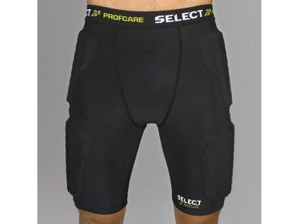 Select Kompresní šortky Compression shorts w/pads 6421 černá S (Velikost L)
