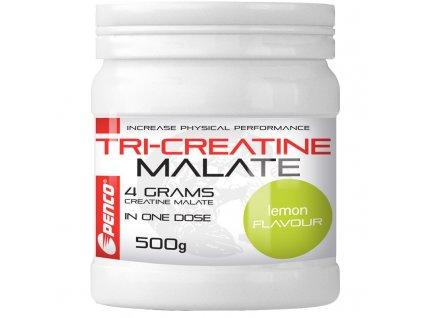 PENCO Kreatin nápoj TRICREATIN MALÁT 500g Citron (Počet tablet/porcí 25)