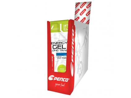 BOX Penco Energetický gél DLHÝ CHOD 35g Citron (Počet tablet/porcí 25)