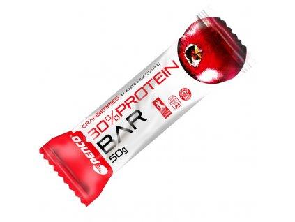 PENCO Proteinová tyčinka  PROTEIN BAR 50g  Brusinka (Počet tablet/porcí 1)