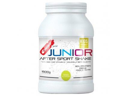 PENCO Regenerační nápoj pro juniory JUNIOR AFTER SPORT SHAKE 1500g Banán (Počet tablet/porcí 60)