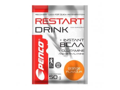 PENCO Regenerační nápoj RESTART DRINK 50g Pomeranč (Počet tablet/porcí 1)