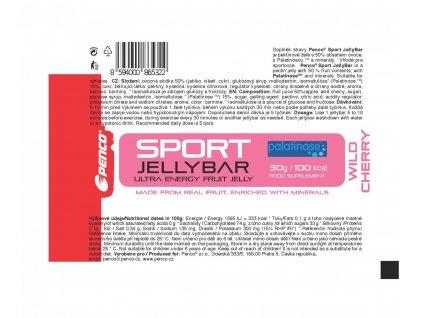 BOX Penco Sport Jelly Bar Višeň 36Ks (Počet tablet/porcí 36)