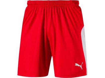 Trenky Puma Liga (Velikost 3XL, BARVA Červená, Délka nohavice šortky)