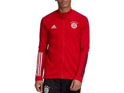 Mikina adidas FC Bayern Munchen Track (Velikost L, BARVA Červená)