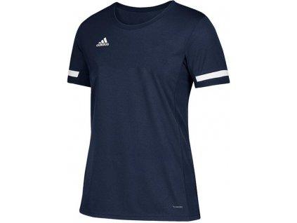 Dětský dres adidas Team 19 (Velikost 116, BARVA Modrá, Délka rukávu bez rukávu)