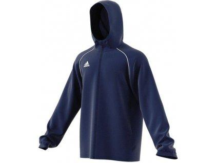 Bunda Adidas Core 18 Rain (Velikost 3XL, BARVA Modrá)