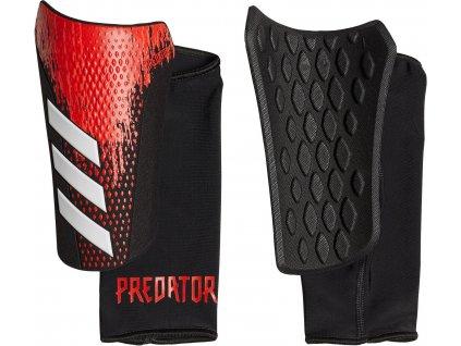 Chrániče adidas Predator 20 Competition (BARVA Červená, Velikost M)