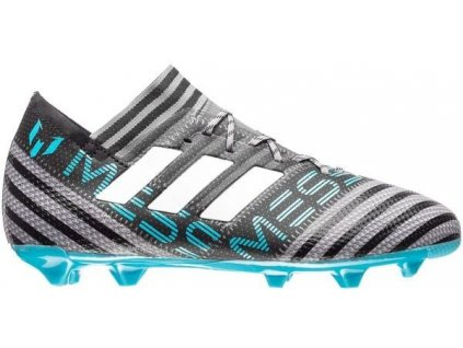 Dětské kopačky adidas NEMEZIZ MESSI 17.1 FG (Velikost 37 1/3 EU, BARVA šedá, Požadované vlastnosti dětské)