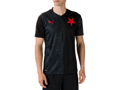 Dres Puma SK Slavia Praha Replica 2020/21 vonkajší (Velikost L)