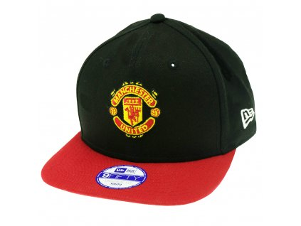 1115150 ksiltovka new era manchester united snapback red detska