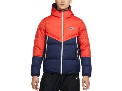 Bunda s kapucňou Nike Sportswear Down-Fill Windrunner (Velikost L)