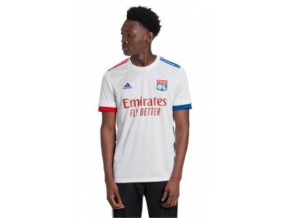 Tričko adidas Olympique Lyon 2020/21 domáce (Velikost L)