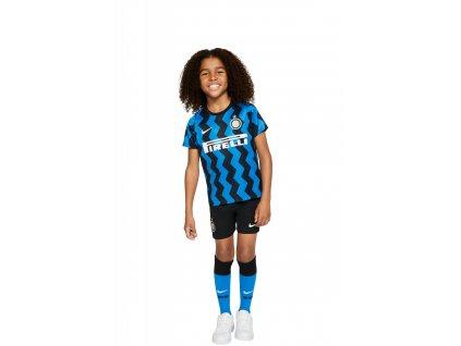 Komplet pro malé děti Nike Inter Milan 2020/21 domácí (3-8 let) (Velikost L)