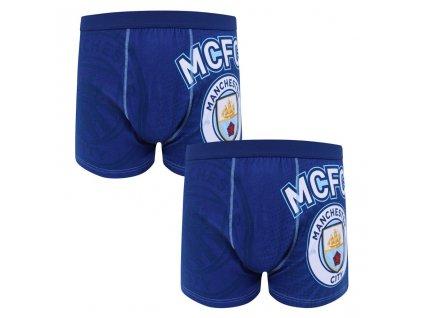 Pánske boxerky Manchester City 2pk Premium (Velikost L)