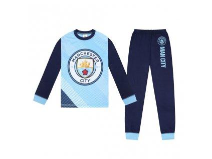 Pyžamo Manchester City navy long (Velikost 9-10 let)