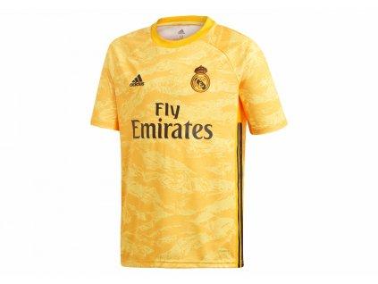 Dětský brankářský dres adidas Real Madrid CF 2019/20 domácí (Velikost 128)