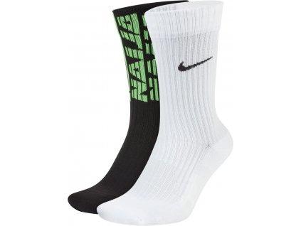 Ponožky Nike Nigeria (2 páry) (Velikost L)